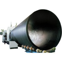 Spiral Hollow Wall Pipe Extrusion Line