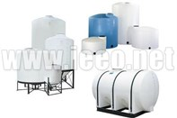 Production of plastic tanks machines