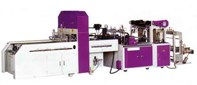 High speed automatic sealing and cutting machine (Two units in one machine)