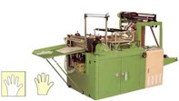 High speed automatic and electronic glove machine