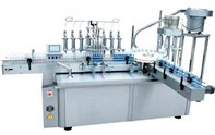 Light liquids filling and capping machine