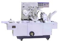 Three dimension transparent films packaging machine