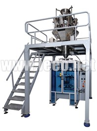 Form Fill & Seal Machine With Multihead Weigher