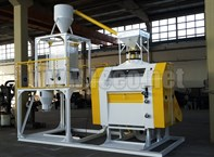 Grinding wheat flour production line