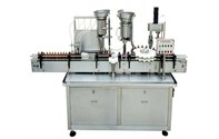 Vail filling stopper capping production line